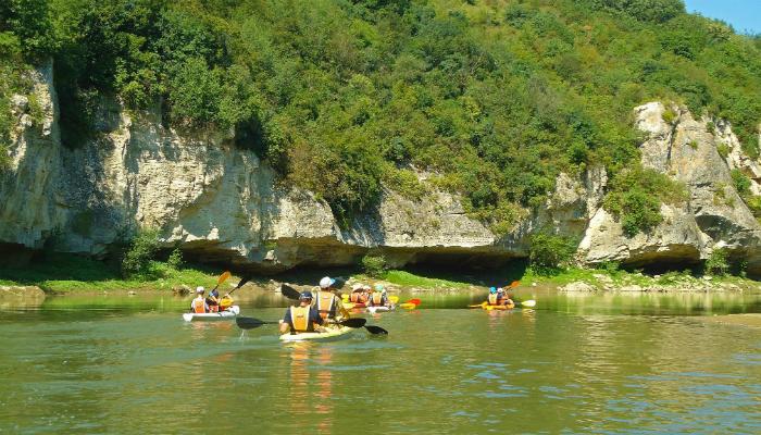 kayaking bulgaria yantra river