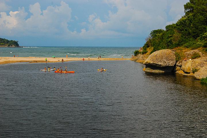 Kayaking Kiten Bulgaria
