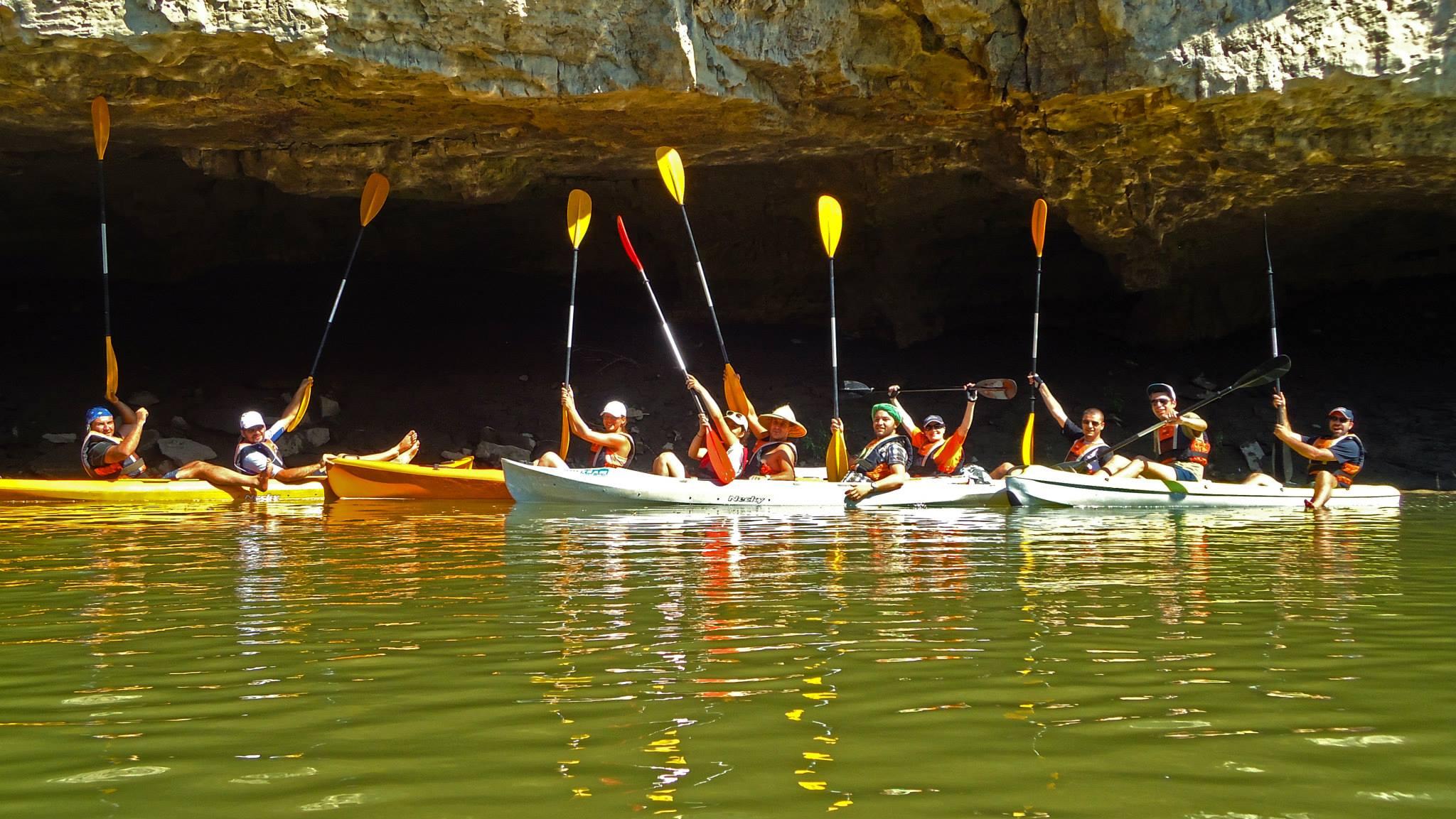 Kayaking Yantra River