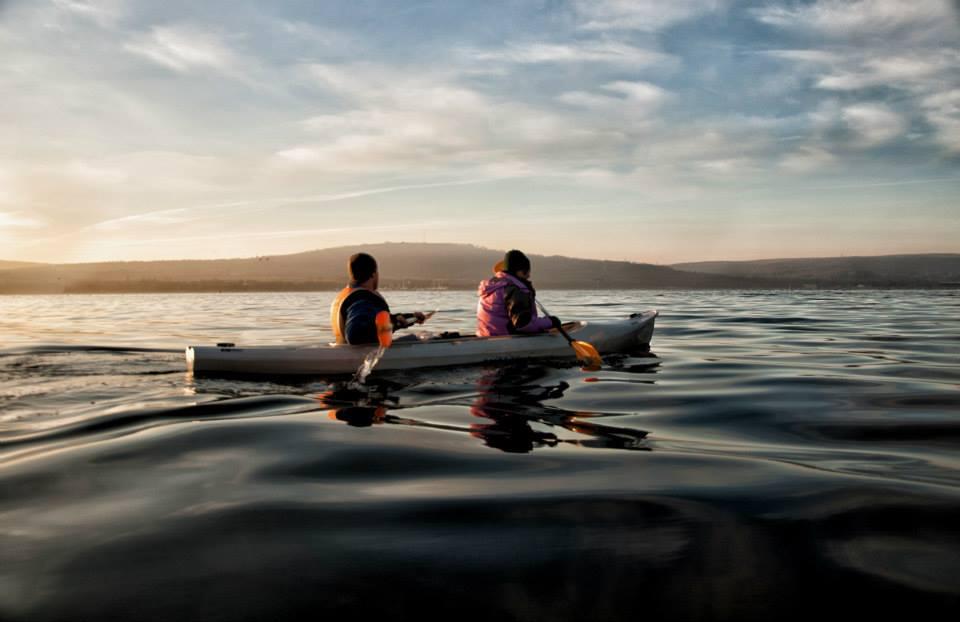 Kayaking Varna lake