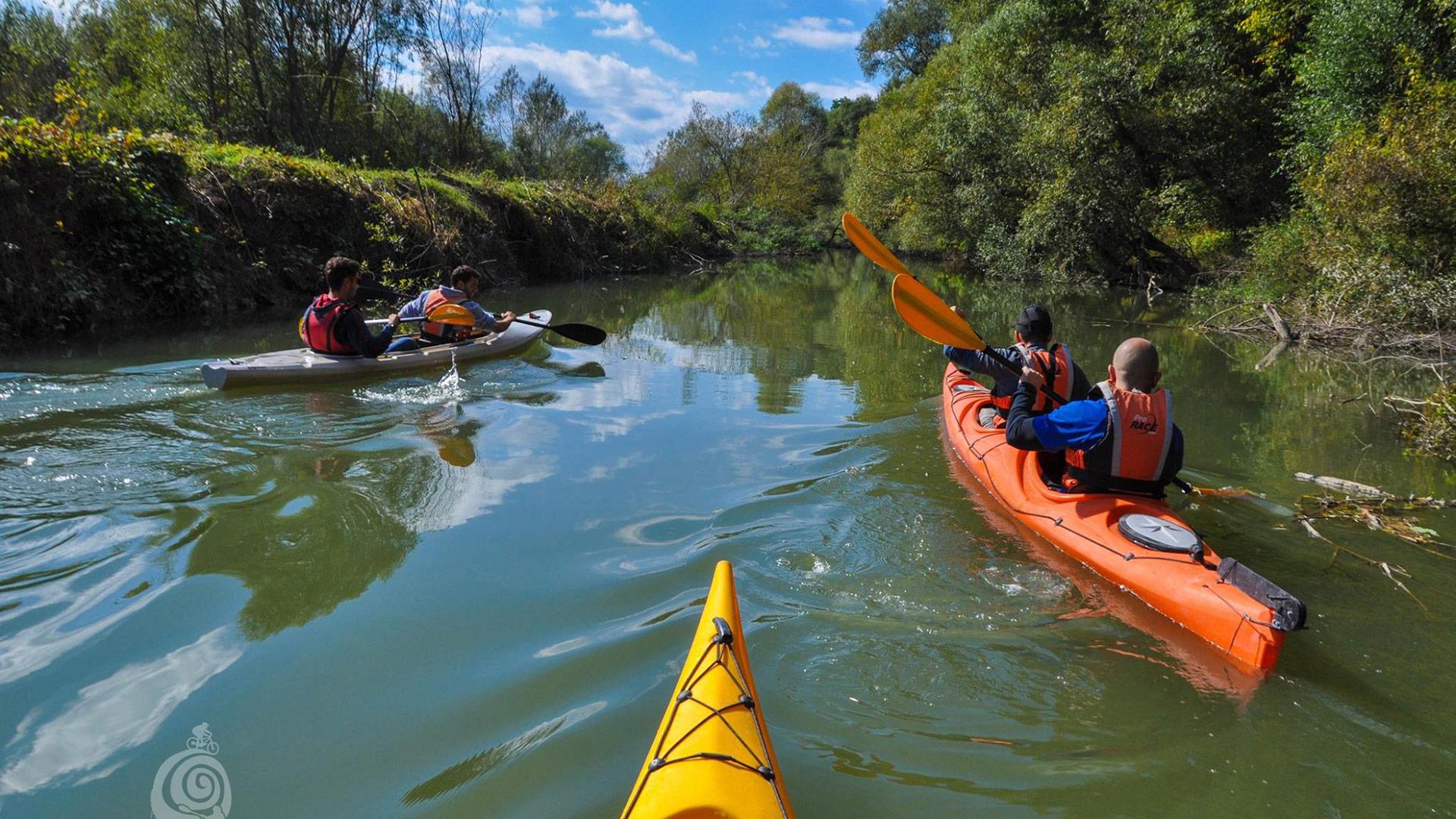 Kayaking day tour Kamcha river