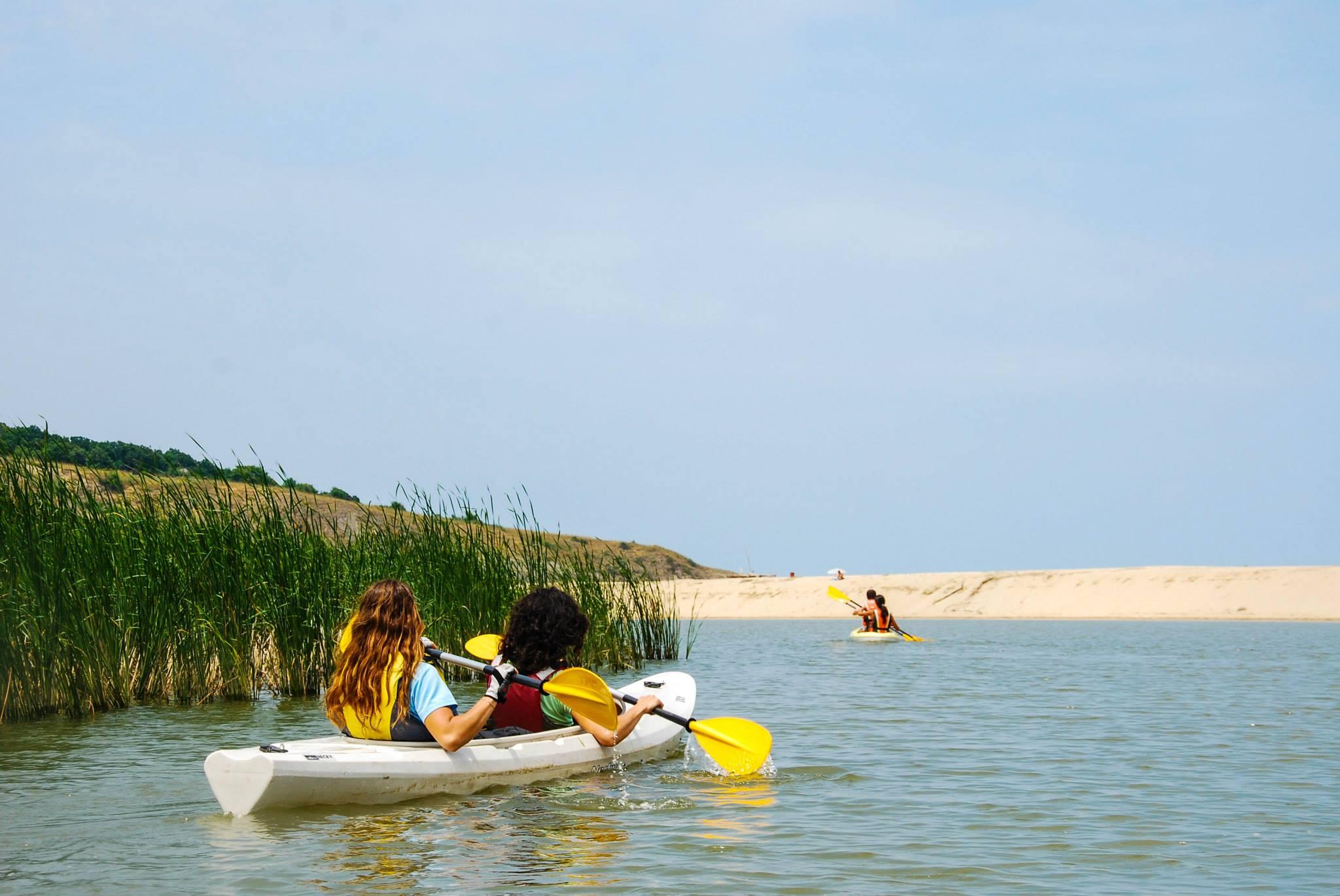 Kayaking Veleka