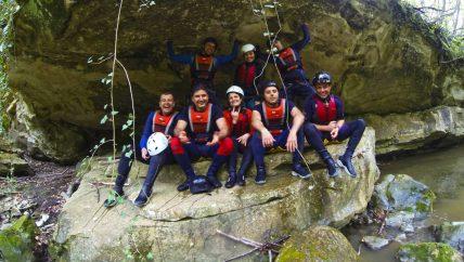 Canyoning near Varna