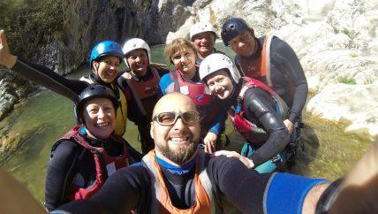 Canyoning Medven Bulgaria