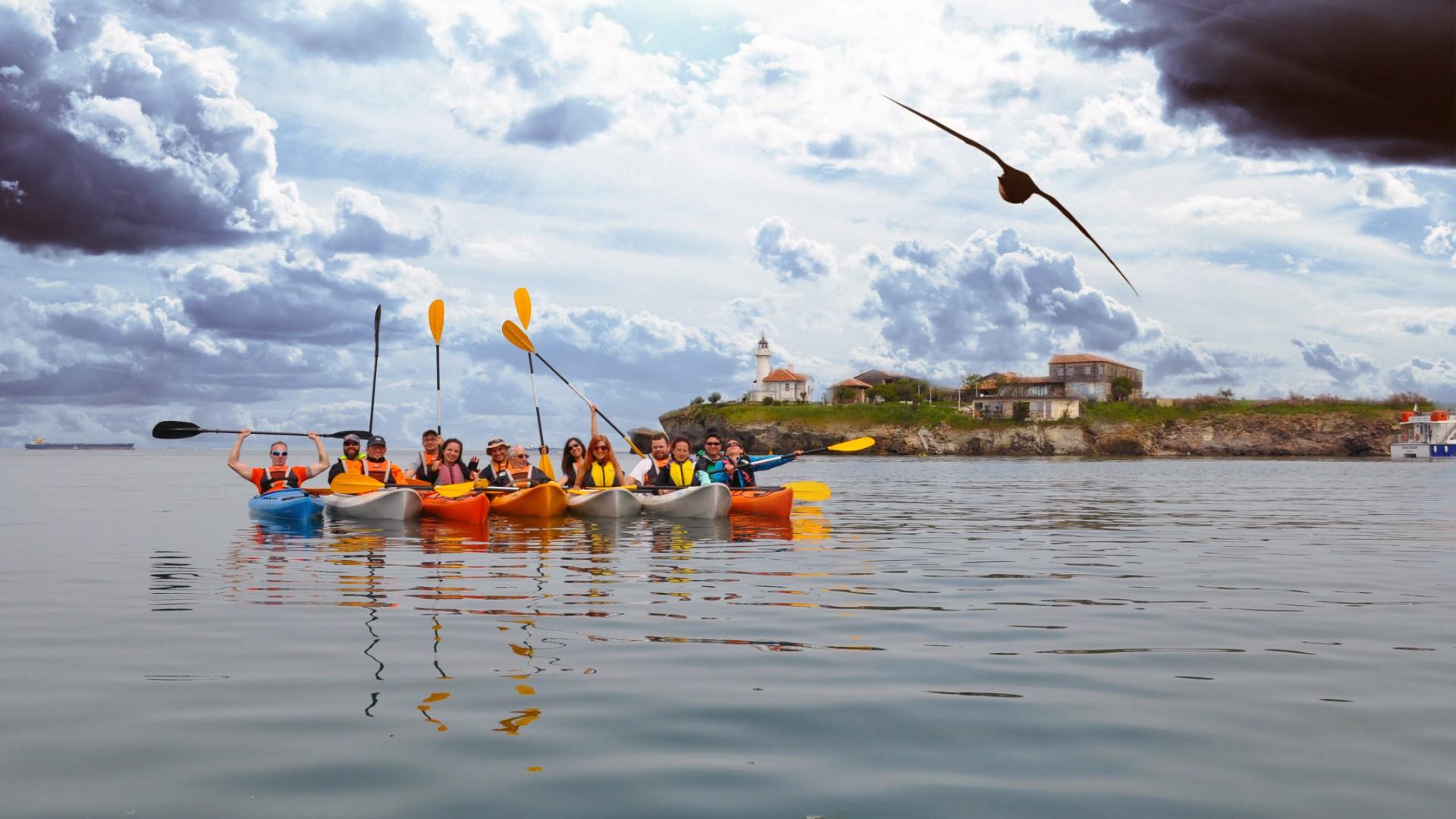 Kayaking Burgas