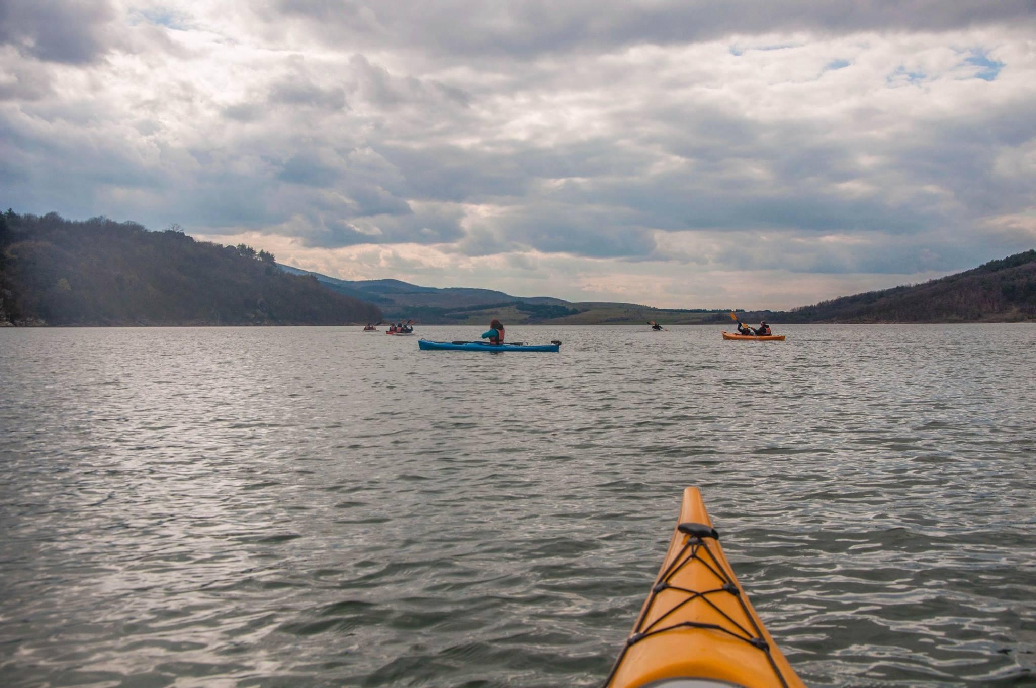 Zhrebchevo kayaking