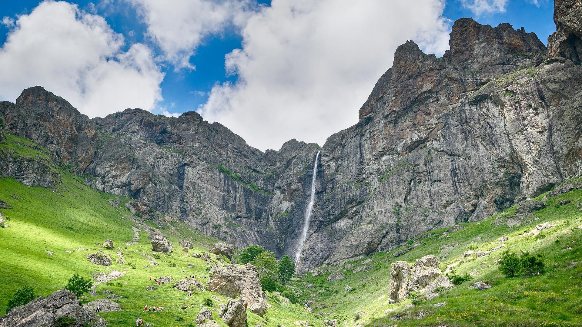 Raisko praskalo waterfall