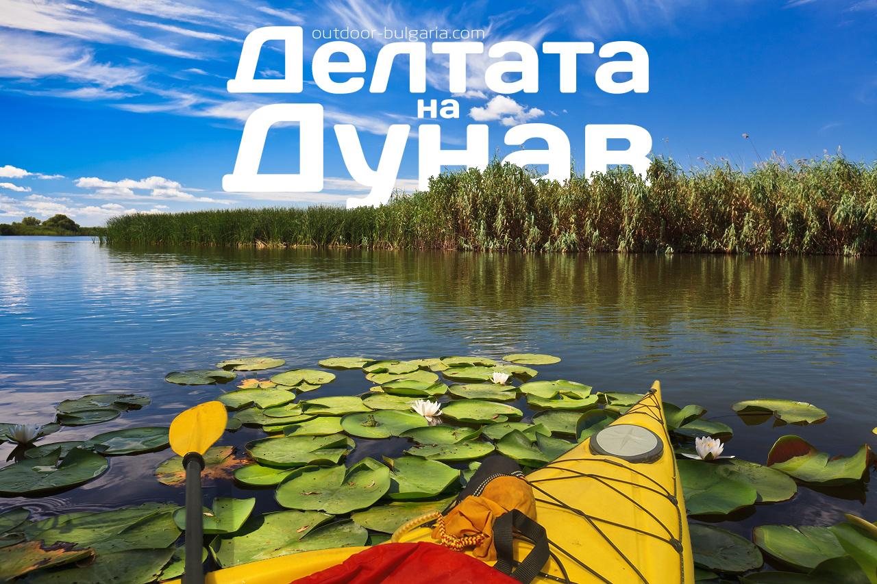 Dunav delta kayaking
