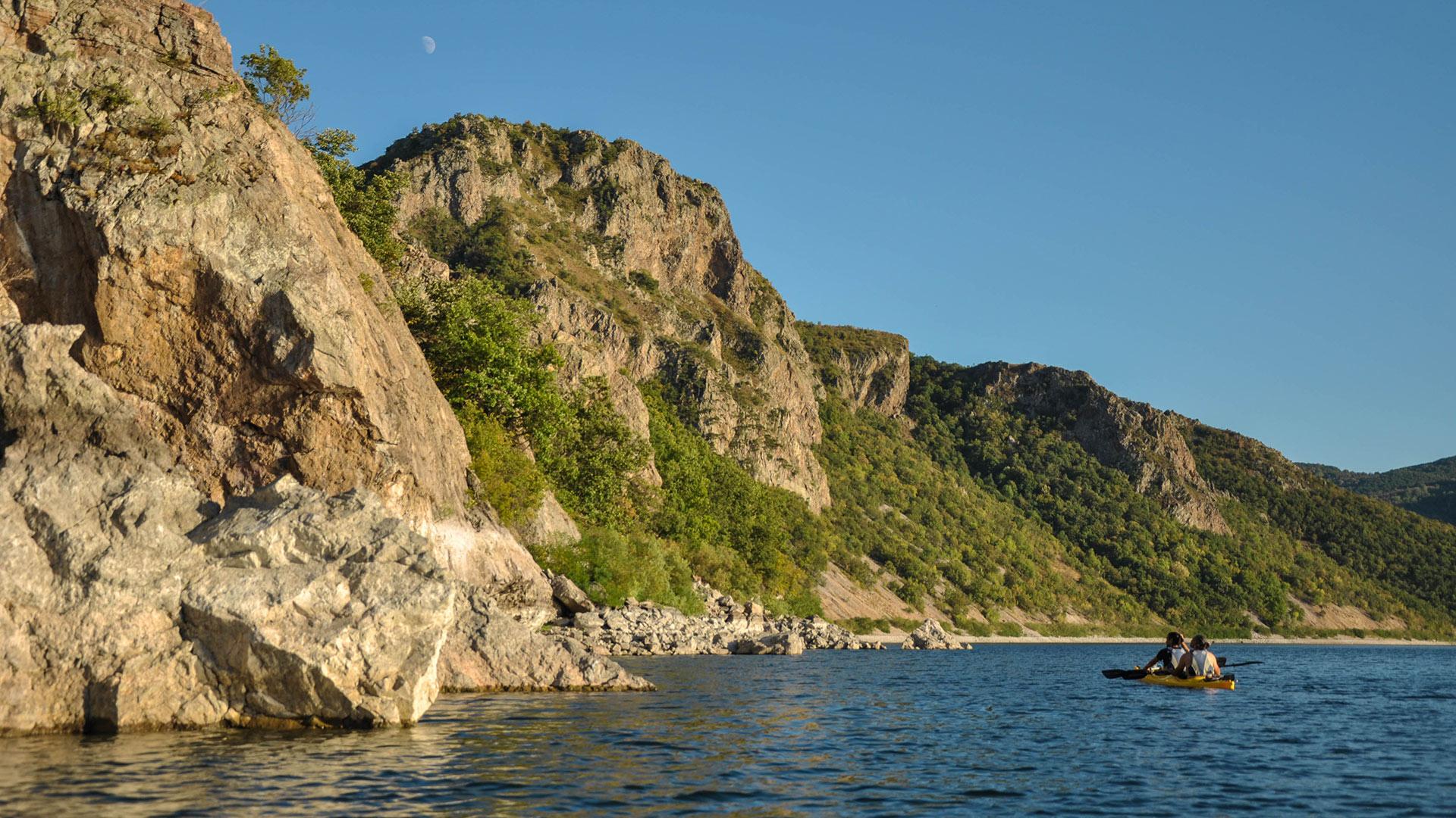 Kayaking Studen Kladenets Rhodope